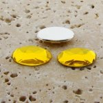 Jonquil Jewel Faceted - 14x10mm. Oval Cabochons - Lots of 144