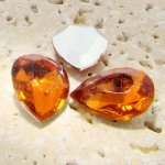Madeira Topaz - 25x18mm. Pear Faceted Gem Jewels - Lots of 72