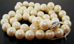 CULTURA 16MM ROUND SMOOTH JAPANESE PEARLS - Lot of 48