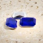 Sapphire - 14x10mm. Octagon Faceted Gem Jewels - Lots of 144
