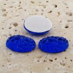 Sapphire Baroque - 18x13mm. Oval Cabochons - Lots of 144