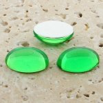 Peridot Jewel - 25x18mm. Oval Domed Cabochons - Lots of 72