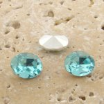 Light Sapphire Jewel -10x8mm Oval Faceted Gem Jewel - Lot of 144