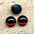 Garnet Jewel - 11mm. Round Domed Cabochons - Lots of 144