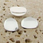 Crystal Jewel - 15x11.5mm. Rectangle Cabochons - Lots of 144