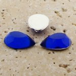 Sapphire Jewel Faceted - 25x18mm. Pear Cabochons - Lots of 72