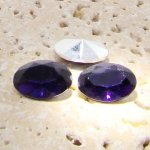 Amethyst Jewel - 14x10mm. Oval Faceted Gem Jewels - Lots of 144