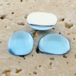 Light Sapphire - 15x11.5mm. Rectangle Cabochons - Lots of 144