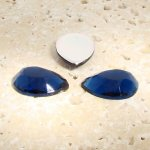 Montana Sapphire Faceted - 13x8.5mm Pear Cabochons - Lots of 144