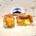 Madeira Topaz - 25x18mm Octagon Faceted Gem Jewels - Lots of 72