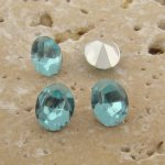 Light Sapphire Jewel - 8x6mm Oval Faceted Gem Jewel - Lot of 144