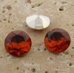 Topaz Jewel - 13mm Round Table Top Rhinestone Jewel - Lot of 144