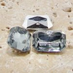 Black Diamond - 14x10mm Octagon Faceted Gem Jewels - Lots of 144