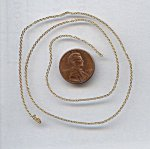 CABLE BRASS BEADING 1MM. VINTAGE CHAIN - PRICED PER FOOT