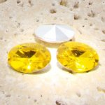Jonquil Jewel - 14x10mm. Oval Faceted Gem Jewels - Lots of 144
