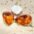 Madeira Topaz - 13x8mm. Pear Faceted Gem Jewels - Lots of 144