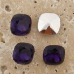 Amethyst Jewel -12x12mm Cushion Square Faceted Jewel -Lot of 144