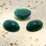 Jade Opaque - 18x13mm. Oval Domed Cabochons - Lots of 144