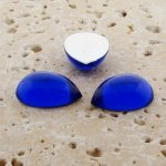 Sapphire Jewel - 13x8.5mm. Pear Domed Cabochons - Lots of 144