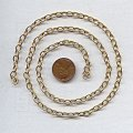 CABLE BRASS 6MM. VINTAGE CHAIN - PRICED PER FOOT