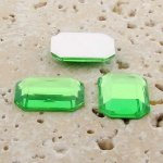 Peridot Jewel Faceted - 18x13mm. Octagon Cabochons - Lots of 144
