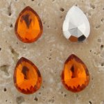Madeira Topaz Jewel -15x11mm Pear Faceted Gem Jewel - Lot of 144