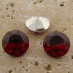 Ruby Jewel - 13mm Round Table Top Rhinestone Jewel - Lots of 144
