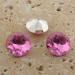 Rose Jewel - 13mm Round Table Top Rhinestone Jewel - Lots of 144