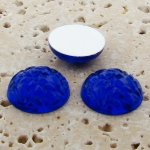 Sapphire Jewel Baroque Domed - 11mm. Cabochons - Lots of 144