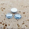 Light Sapphire Jewel Faceted - 9mm Round Cabochons - Lots of 144