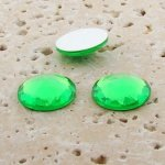 Peridot Jewel Multi Faceted - 13mm Round Cabochons - Lots of 144
