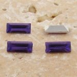 Lt Amethyst Jewel -7x3mm Rectangle Baguette Gem Jewel-Lot of 144