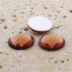 Topaz Jewel Multi Faceted - 20mm Round Cabochons - Lot of 72