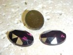 Amethyst Faceted - 18x13mm. Oval Cabochons - Lot of 115