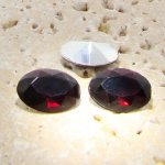 Garnet Jewel - 14x10mm. Oval Faceted Gem Jewels - Lots of 144