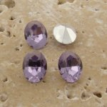 Light Amethyst Jewel - 8x6mm Oval Faceted Gem Jewes - Lot of 144
