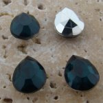 Emerald Jewel - 15x11mm. Pear Faceted Gem Jewels - Lots of 144
