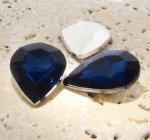 Montana Sapphire - 25x18mm Pear Faceted Gem Jewels - Lots of 72