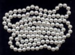WHITE LUSTER 12MM ROUND HAND KNOTTED JAPANESE PEARL - Lot of 161