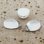 Crystal Jewel - 25x18mm. Pear Domed Cabochons - Lots of 72