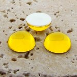 Jonquil Jewel - 25mm. Round Domed Cabochons - Lots of 72
