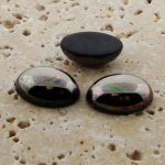 Hematite - 18x13mm. Oval Domed Cabochons - Lots of 144