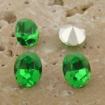 Peridot Jewel - 8x6mm. Oval Faceted Gem Jewels - Lots of 144