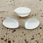 Crystal Jewel - 25x18mm. Oval Domed Cabochons - Lots of 72