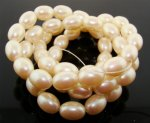 CULTURA 13X10MM OVAL SMOOTH JAPANESE PEARLS - Lot of 58
