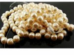 CULTURA 12MM BAROQUE ROUND JAPANESE PEARLS - Lot of 63