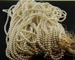 CULTURA 4MM ROUND SMOOTH JAPANESE PEARLS - Lot of 400