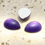 Amethyst Matte Frosted - 18x13mm. Pear Cabochons - Lots of 144