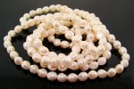 CULTURA 9X8MM BAROQUE OVAL JAPANESE PEARLS - Lot of 172
