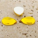 Jonquil Jewel Faceted - 13x8.5mm. Pear Cabochons - Lots of 144